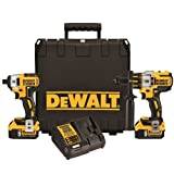 Dewalt DCK296P2 20V XR Brushless Hammerdrill & Impact Driver Combo Kit with (2) 5.0 Ah Batteries
