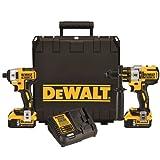 Dewalt DCK296P2 20V XR Brushless Hammerdrill & Impact Driver Combo Kit with (2) 5.0 Ah Batteries