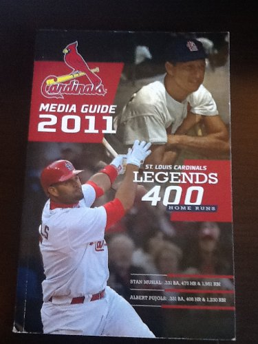 Cardinals Media Guide 2011: St Louis Cardinal Legends 400 Home Runs at Amazon.com