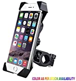 #1: Andride Universal Bike Holder 360 Degree Rotating Bicycle Holder Motorcycle cell phone Cradle Mount Holder for All Size Mobile Phones