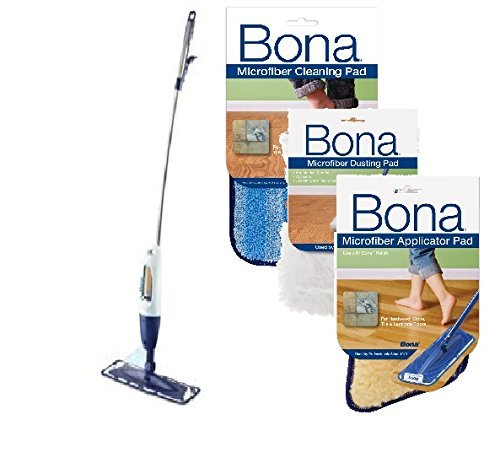 Bona Hardwood Floor Spray CURVE Mop with Dust Pad and Applicator Pad (Bona Floor Dust Mop compare prices)