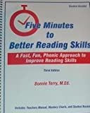 Five Minutes to Better Reading Skills - Student Booklet Only: A Fast, Fun, Phonic Approach to Improve Reading Skills