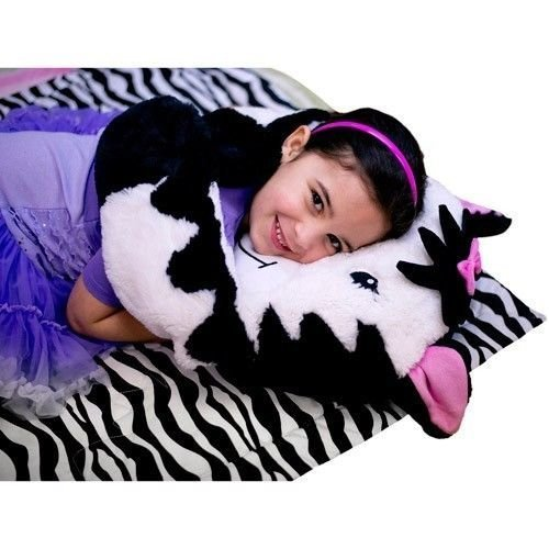 Zebra Pillow Puppet