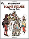 img - for Plains Indians Coloring Book (Dover History Coloring Book) book / textbook / text book