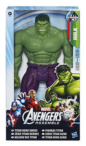 Official Hasbro Marvel Avengers Assemble Titan Hero Series Hulk Action Figure Toy Picture