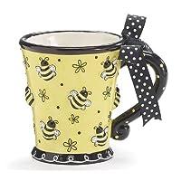 Raised Design 10oz Bee Mug