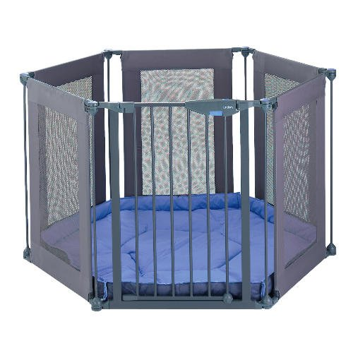 Lindam Safe and Secure Soft Fabric Playpen