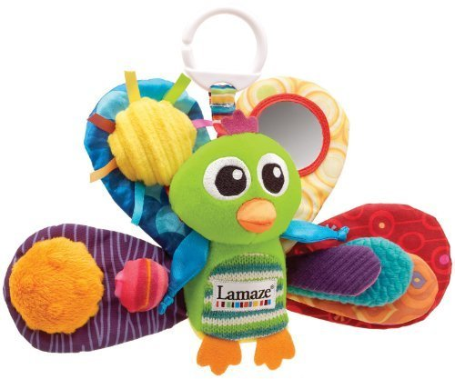 Lamaze Play & Grow Jacques The Peacock Take Along Toy Newborn, Kid, Child, Childern, Infant, Baby front-525528