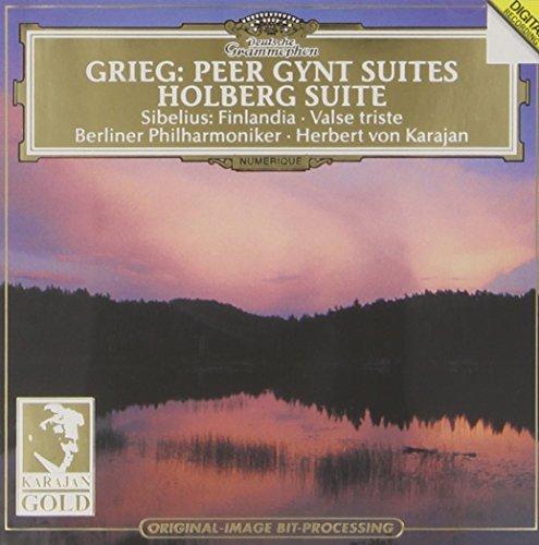 Edvard Grieg - Grieg: Peer Gynt Suites, Holberg Suite / Sibelius: Finlandia, Valse Triste - Zortam Music
