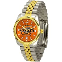 "Oklahoma State Cowboys NCAA AnoChrome ""Executive"" Mens Watch"