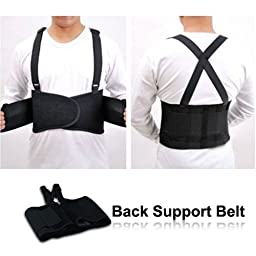 HealthyLife® Adjustable Back Support Belt and Brace