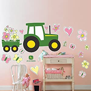 John Deere Removable Wall Decorations