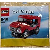 LEGO Creator Mini Figure Set #7803 Red Jeep Bagged