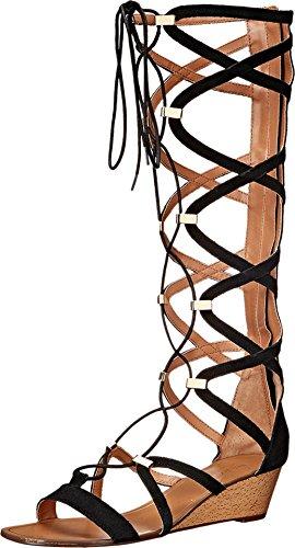 Report Women's Monterie Gladiator Sandal, Black, 6.5 M US - 1