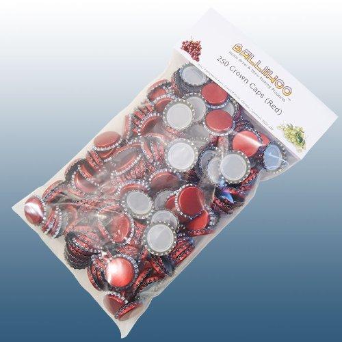 home-brew-balliihoor-pack-of-250-crown-bottle-caps-red