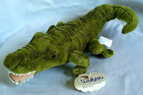 "12"" ""Polo"" Alligator Wishpets Plush"
