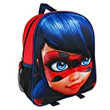 Original Miraculous Ladybug 3D Backpack For Kids! Officially Licensed Miraculous Ladybug Merchandise (Color: multicoloured, Tamaño: one size)