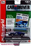 Auto World 1965 Ford GT40 -Car and Driver Approved Selection- Die Cast BLUE Car