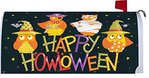Halloween Owls Mailbox Makeover (Customs Halloween Make)