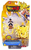 Dragonball Z Flash Changer 2.5 Inch Figure 2-Pack Vegeta and Super Saiyan Vegeta