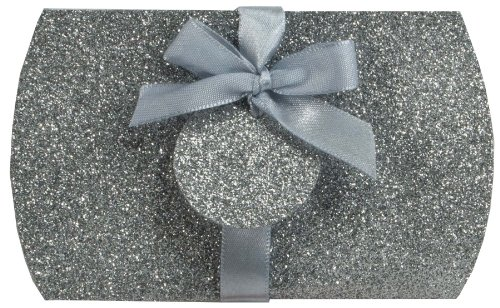 The Gift Wrap Company Gift Card Pouches, Glitter Chrome