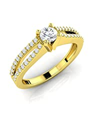 Royal Solitaire Engagement Ring(AELR0058Y)
