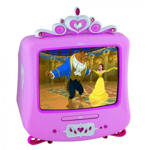 Disney Princess tv And Dvd Player Disney Princess Tv/dvd Combo