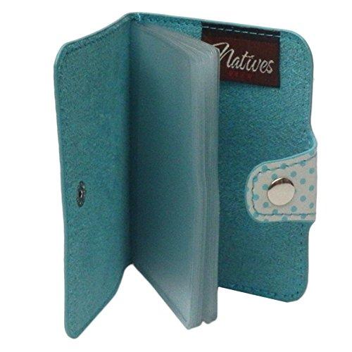 Porte Cartes De Fidelite JECONOMISE POUR LES SOLDES Bleu Credit CB Carte Bleue Bancaire Visite Retro Vintage Sixties Idee Cadeau Original