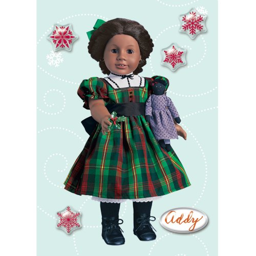 American Girl Crafts Addy Walker Holiday Bubble Stickers