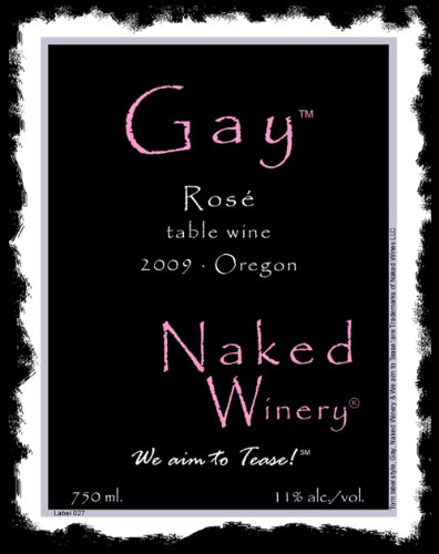 2010 Naked Winery Gay Rose 750 Ml