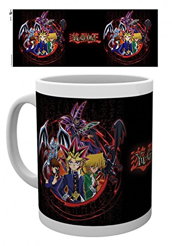 Set: Yu-Gi-Oh!, Dualists Tazza Da Caffè Mug (9x8 cm) E 1 Sticker Sorpresa 1art1®