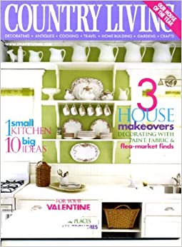 Country living february 2002 house of the year 3 house for Country living 500 kitchen ideas book
