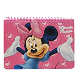 Disney Minnie Mouse Spiral Autograph Book - Pink