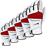 Nike Golf Men's Tech Xtreme IV Golf Glove - LH (5 Pack) - White/Black-Red - L
