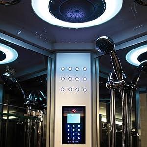 GT9012 Insignia Steam Shower Cabin Enclosure Cubicle !