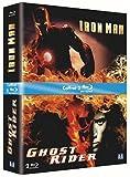 echange, troc Iron Man + Ghost Rider - Coffret 2 Blu-ray [Blu-ray]