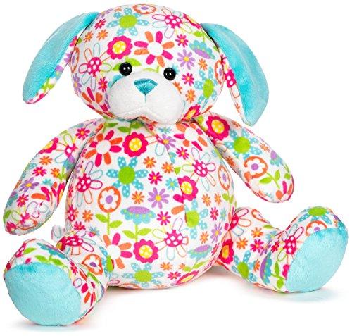 """Ganz 11"""" Floral Cuties Dog Plush Toy - 1"""