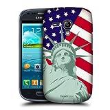 Head Case Designs Liberty American Pride Hard Back Case Cover for Samsung Galaxy S3 III mini I8190