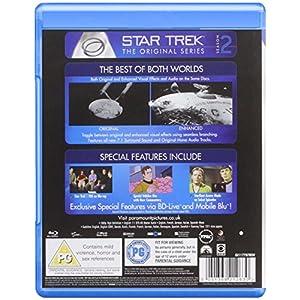Star Trek: The Original Series Remastered - Season 2 [Blu-ray] [Import angl