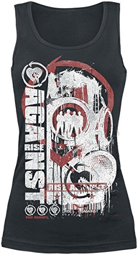 Rise Against Colony Top donna nero S