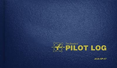 Standard Pilot Log Navy Blue (Standard Pilot Logbooks) from Aviation Supplies & Academics, Inc.