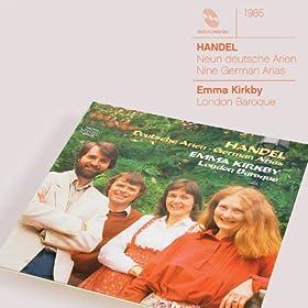 Handel 9 German Arias HWV 202-210