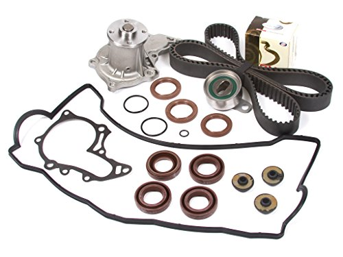 Evergreen TBK036VCT Toyota 4AFE DOHC Timing Belt Kit w/ Water Pump Valve Cover Gasket (1992 Toyota Corolla Water Pump compare prices)