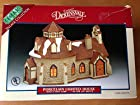 Lemax Village Collection - Dickensvale - #55159 - Stone Church - Porcelain Lighted House