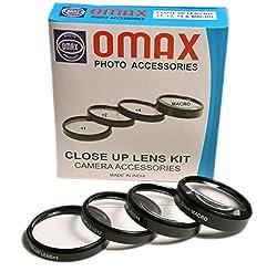 Omax 52mm Closeup Lens Kit for Nikkor 18-55mm F/3.5-5.6 Lens