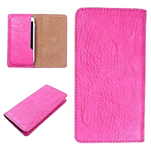 DooDa PU Leather Case Cover For Huawei Honor 3C (Pink)