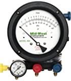 "Mid-West 835 5-Valve Backflow Test Kit, 14-1/2"" Length x 9"" Width x 16"" Height"