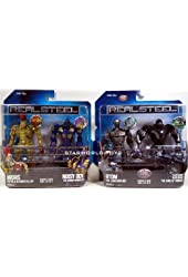 "Real Steel Deluxe Feature 8"" Figures Wave 1 Set Of 4"