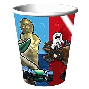 Lego Star Wars 9 oz Cups by Hallmmark