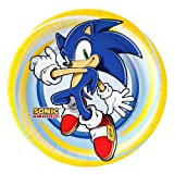 Sonic the Hedgehog Party Supplies - Dinner Plates (8)